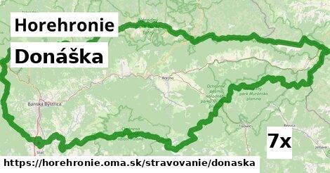 ilustračný obrázok k Donáška, Horehronie