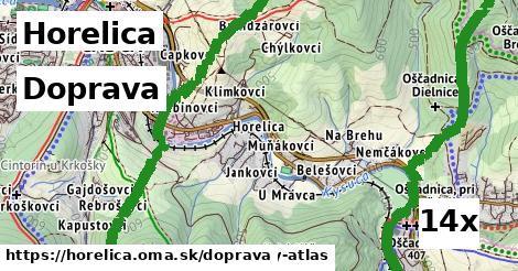 doprava v Horelica
