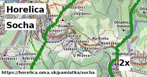 socha v Horelica