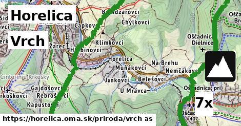 vrch v Horelica