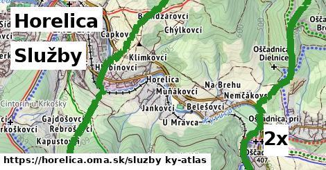 služby v Horelica