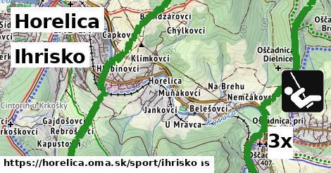 ihrisko v Horelica