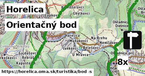 orientačný bod v Horelica