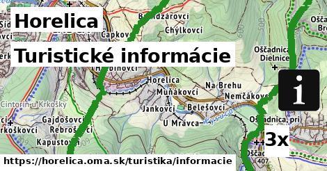 turistické informácie v Horelica