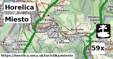 miesto v Horelica