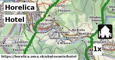 hotel v Horelica