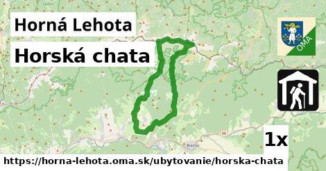 ilustračný obrázok k Horská chata, Horná Lehota