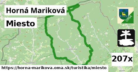 miesto v Horná Mariková