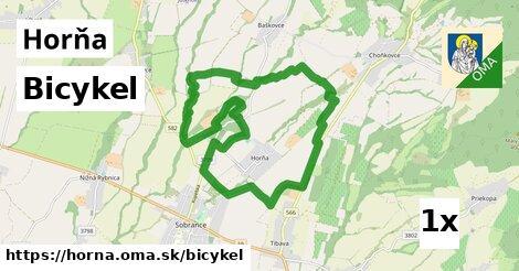 bicykel v Horňa