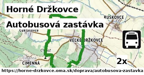 ilustračný obrázok k Autobusová zastávka, Horné Držkovce