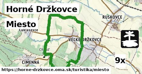 ilustračný obrázok k Miesto, Horné Držkovce