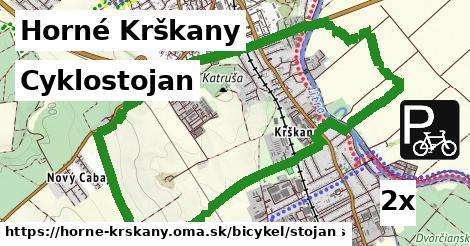 cyklostojan v Horné Krškany