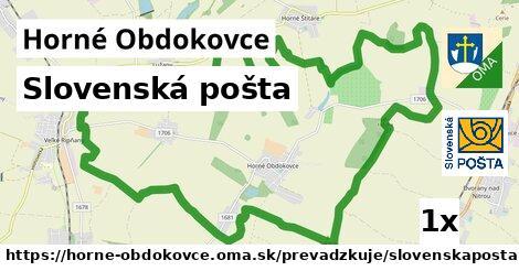 Slovenská pošta v Horné Obdokovce
