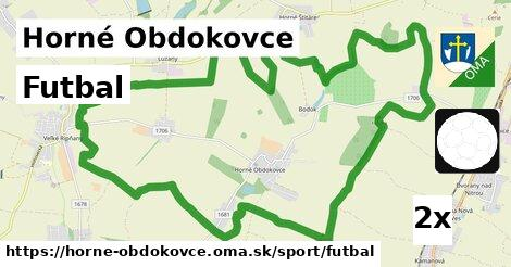 futbal v Horné Obdokovce