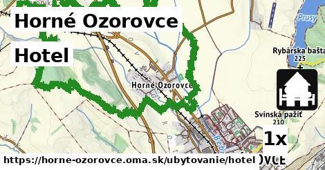 hotel v Horné Ozorovce