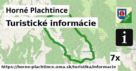 turistické informácie v Horné Plachtince
