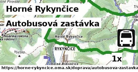 ilustračný obrázok k Autobusová zastávka, Horné Rykynčice