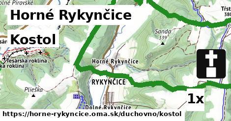 ilustračný obrázok k Kostol, Horné Rykynčice