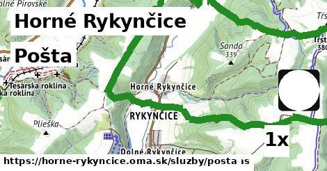 ilustračný obrázok k Pošta, Horné Rykynčice