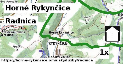 ilustračný obrázok k Radnica, Horné Rykynčice