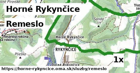 ilustračný obrázok k Remeslo, Horné Rykynčice