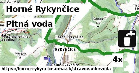 pitná voda v Horné Rykynčice