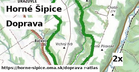 doprava v Horné Šipice