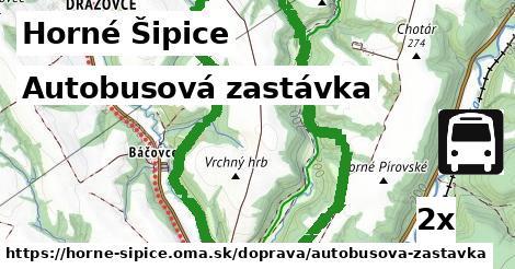 ilustračný obrázok k Autobusová zastávka, Horné Šipice