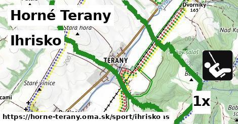 ihrisko v Horné Terany