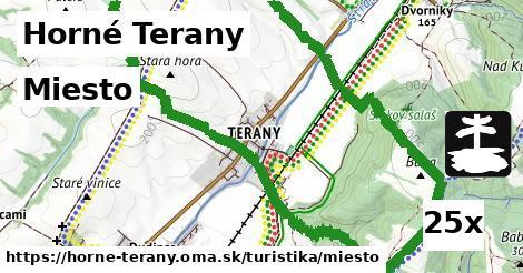 miesto v Horné Terany