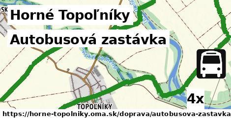 ilustračný obrázok k Autobusová zastávka, Horné Topoľníky