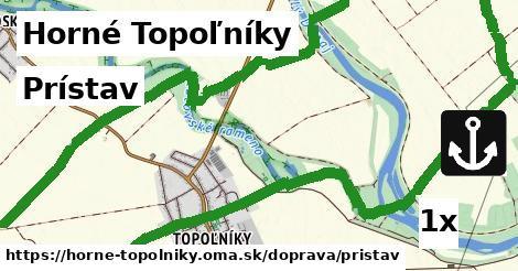 ilustračný obrázok k Prístav, Horné Topoľníky
