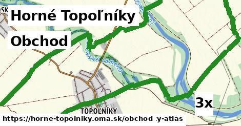 obchod v Horné Topoľníky