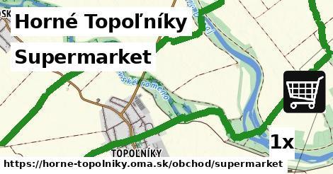 ilustračný obrázok k Supermarket, Horné Topoľníky