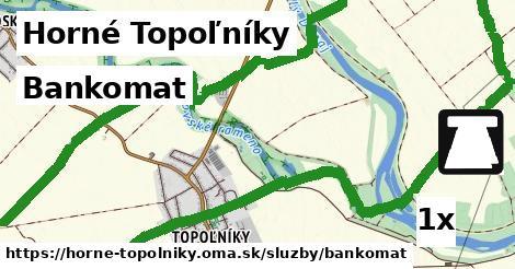 bankomat v Horné Topoľníky