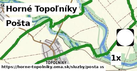 pošta v Horné Topoľníky
