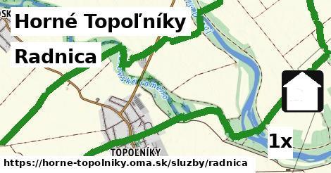 ilustračný obrázok k Radnica, Horné Topoľníky
