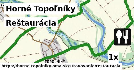 reštaurácia v Horné Topoľníky