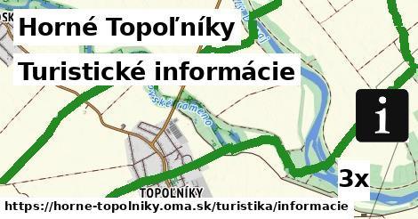 ilustračný obrázok k Turistické informácie, Horné Topoľníky