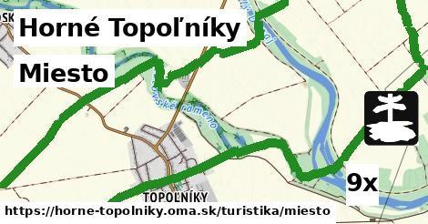 miesto v Horné Topoľníky