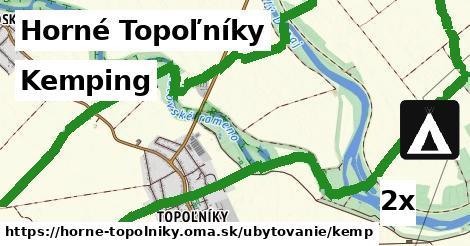 kemping v Horné Topoľníky