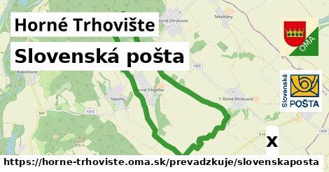 Slovenská pošta v Horné Trhovište