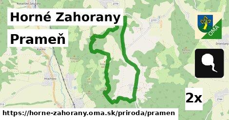 ilustračný obrázok k Prameň, Horné Zahorany