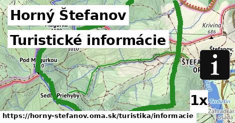 ilustračný obrázok k Turistické informácie, Horný Štefanov