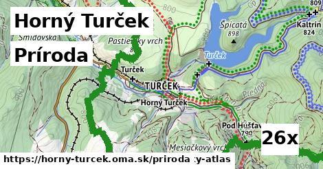 príroda v Horný Turček