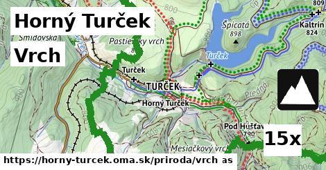 vrch v Horný Turček