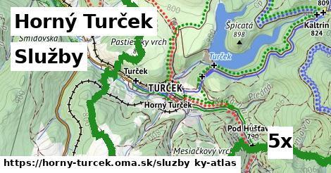 služby v Horný Turček