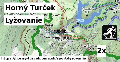 lyžovanie v Horný Turček
