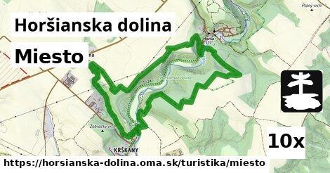 ilustračný obrázok k Miesto, Horšianska dolina