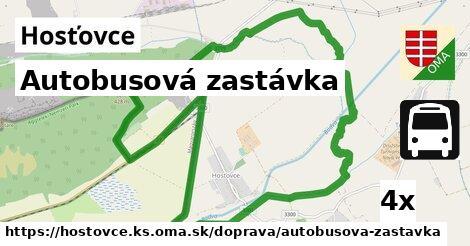 ilustračný obrázok k Autobusová zastávka, Hosťovce, okres KS